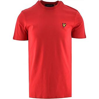 Lyle & Scott Red Crew Neck T-Shirt
