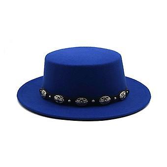 Chapéu de Feltro / Imitação Inverno de Lã Manter Quente Fedora Chapéu Clássico e Vintage