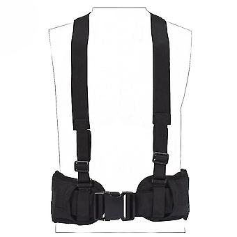 Tactical Vest Nylon Military Convenient Combat Girdle Eas H-shaped Adjustable