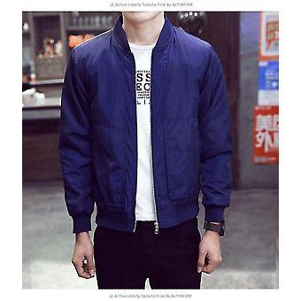 メンズジャケット 春秋ファッション スリムフィット カジュアルジャケット