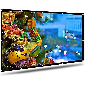 Projector Screen 100 Inch, Portable Projection Screen
