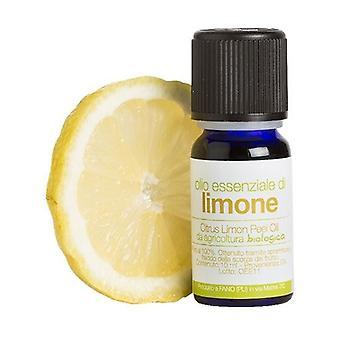 Organic Lemon Essential Oil 10 ml of oil