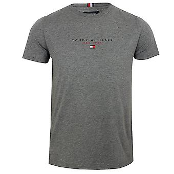 Tommy hilfiger men's essential medium grey heather t-shirt