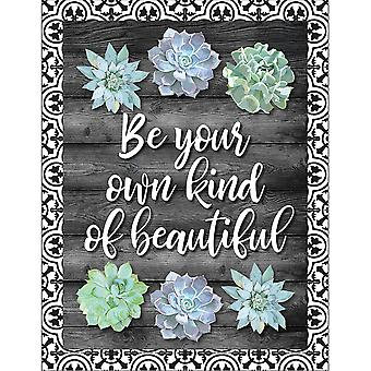 Simply Stylish Be Your Own Kind Of Beautiful Chart
