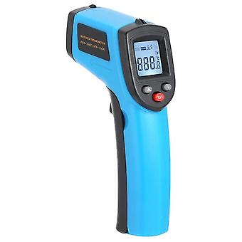 Meter non-contact pyrometer digital infrared thermometer laser temperature imager hygrometer ir termometro color lcd light alarm