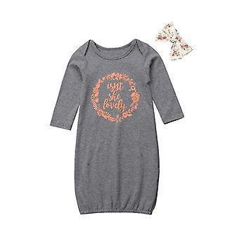 Βρεφικά σετ ρούχων βαμβακιού μωρών - Ένα κομμάτι νεογέννητο περιτύλιγμα κουβέρτα sleepwear