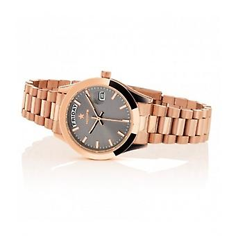 Hoops Luxury Day Date Gold Mid Grey 33mm Women's Watch