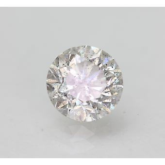 Sertifioitu 1,00 karat H Väri SI2 Pyöreä Brilliant Natural Loose Diamond 6,25mm