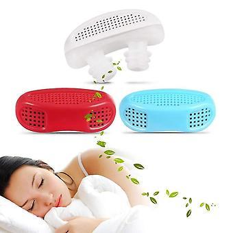 2 i 1 anti snorking luft renser sovemiddel reliever snorking enhet