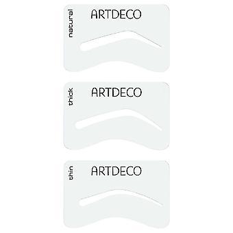 Artdeco Augenbrauenschablonen 3 verschiedenen Formenissa