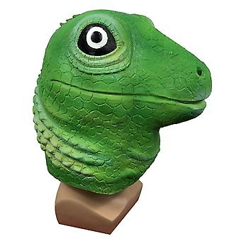 Lizard Hoofddeksel Dier Masker Maskerade Cartoon Halloween Party Cosplay Rekwisieten