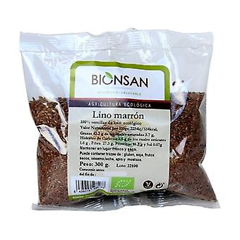 Eco brown linen 300 g