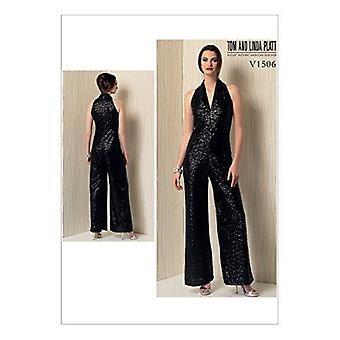 Vogue Cosiendo Patrones 1506 Echa de menos mono tamaño XS-MD Diseñador