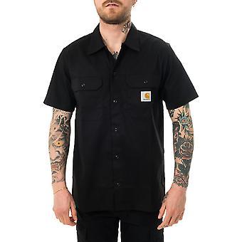 Chemise homme carhartt wip s/s master shirt noir i027580.89