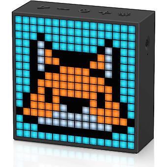 HanFei Timebox-Evo Pixel Art Bluetooth Lautsprecher mit Programmierbares 256 LED Panel, 3,9 x 1,5 x