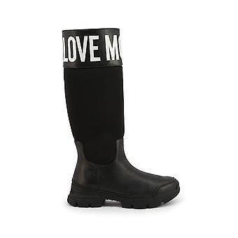 Love Moschino - Shoes - Boots - JA15594G0BJB-100A - Ladies - black,white - EU 37