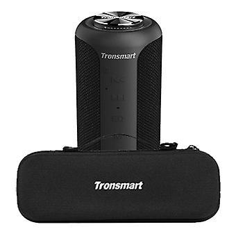 Tronsmart T6 Plus Bluetooth 5.0 Soundbox with Storage Bag - Wireless Speaker External Wireless Speaker Black