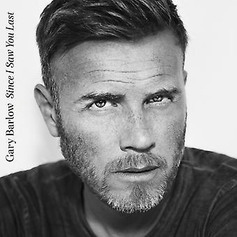 Gary Barlow - Since I Saw You Last CD