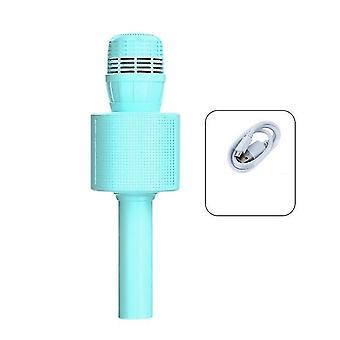 Blaue ktv Duett-Funktion Mikrofon integriert drahtlose Bluetooth-Mikrofon dt4949