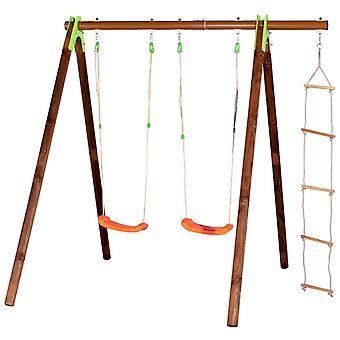 TRIGANO Strickleiter für Schaukel-Sets 1,9-2,5 m J-423