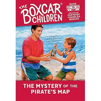 سر خريطة القراصنة التي أنشأتها جيرترود تشاندلر وارنر