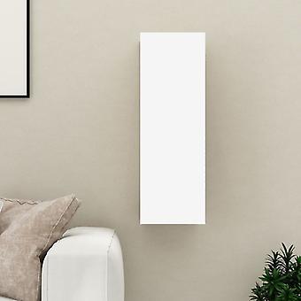 """vidaXL טלוויזיה ארון לבן 30,5x30x90 ס""""מ שבב"""