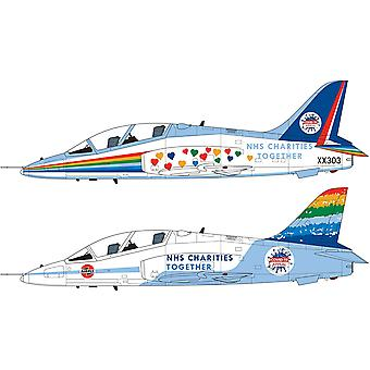 Airfix NHS Hyväntekeväisyysjärjestöt yhdessä Hawk Model Kit