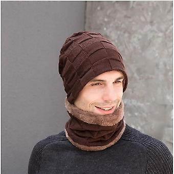 Gemdeck 3 Pieces Knitted Hat, Scarf And Glove Set