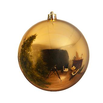 Gold Giant 25cm Shatterproof Christmas Tree Bauble Decoration