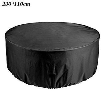 (230 * 110CM) Ulkona Suuret vedenpitävät huonekalut Kansi Puutarha Patio Pöytätuoli Setti Suojus