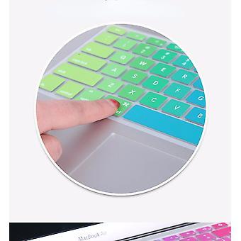 """Näppäimistösuojat värikäs piinäppäimistön kansi 11"""" 13"""" 15"""" macbookille"""