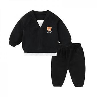 Baby Sweater Suit Trousers Two Piece Suit