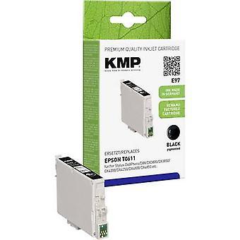 KMP de tinta sustituye Epson T0611 Compatible negro E97 1603,0001