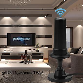Free View Antenne Digital Dvb-t Tv 36 Db Per Auto Tw36 Avec Câble