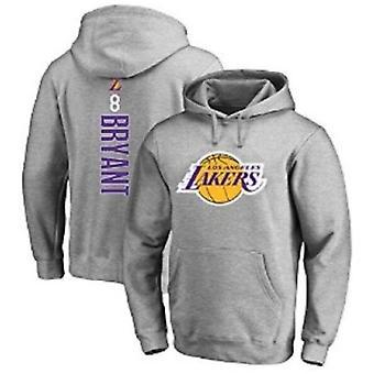Men's Soft Fleece Hoodie Los Angeles Lakers 8 24 Bryant Basketball Coats Sport Pullover Casual Sweatshirt