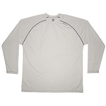 Cliff Keen MXS Loose Gear Long Sleeve Technical Shirt - Gray