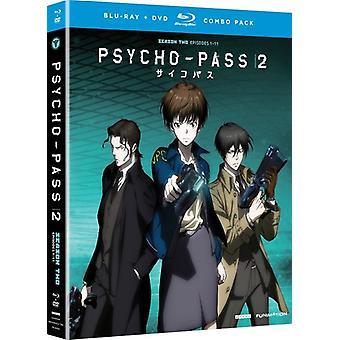 Psycho-Pass 2: Importación temporada dos Estados Unidos [Blu-ray]