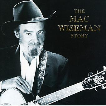 Mac Wiseman - Mac Wiseman Story [CD] USA import