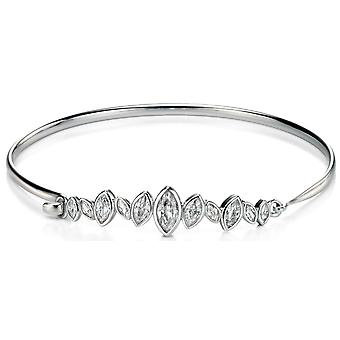 925 Серебряный браслет цирконий модно