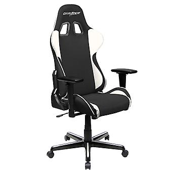 DX Racer DXRacer OH/FH11/NW High-Back Ergonomic Office Desk Chair Strong Mesh+PU(Black/White)