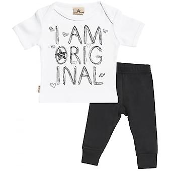 Spoilt Rotten I Am Original Baby T-Shirt & Baby Jersey Trousers Outfit Set