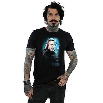Star Wars mężczyzn ostatni Jedi Luke'a Skywalkera szczotkowane T-Shirt