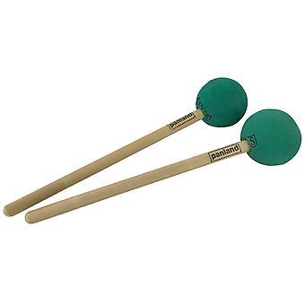 PP Low Bass Steel Pan Stick Pair
