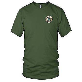 CCC Recon Team TEXAS - US Army MACV-SOG Special Forces - Vietnamkrigen broderet Patch - Herre T-shirt