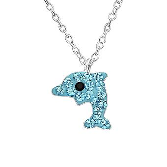 Dolphin - 925 Sterling Silver Necklaces - W33086X