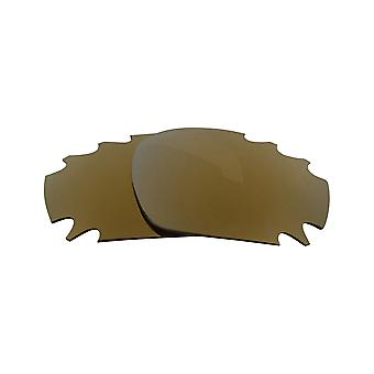 Polarized Replacement Lenses for Oakley Jawbone Sunglasses Gold Anti-Scratch Vented UV400 by SeekOptics