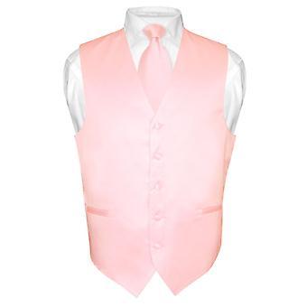 Mäns klänning Vest & halsduk fast hals slips Set för kostym eller smoking
