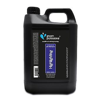 Groom Professional Blueberry Podkreślając Szampon 4L