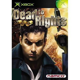 Dead to Rights (Xbox)-nytt
