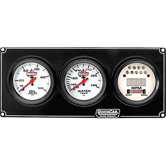 Quickcar Racing Products 61-7031 Extreme 2-1 Gauge Panel